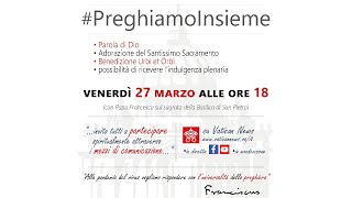 "Papa Francesco: Preghiera e Benedizione ""Urbi et Orbi"" - LIS"