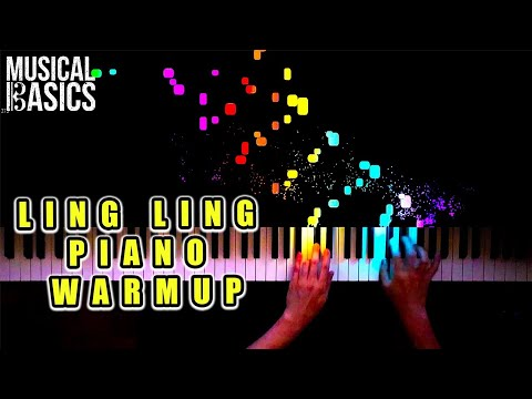 The Ling Ling Warmup - Moonlight Sonata X Torrent Etude X Fantasie Impromptu X Hungarian Rhapsody #2
