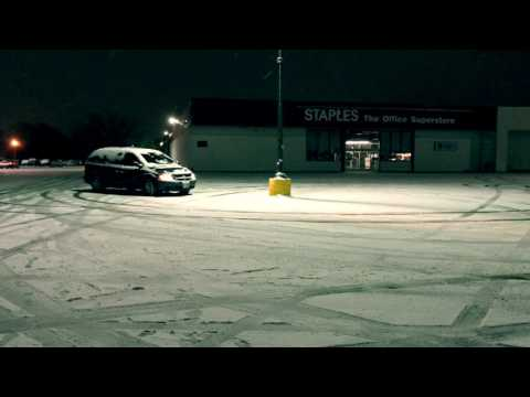 Drifting in a 1000 hp Dodge Grand Caravan Ken Block jealous