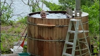 Off Grid, Wood Fired  Hot Tub