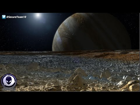 Alien Ships On The Moon