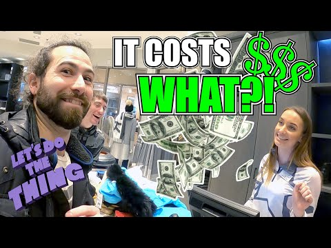 We Found The Most Expensive Ski Gear In Whistler!