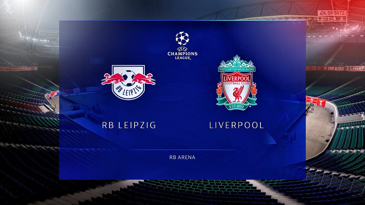 FIFA 21 - RB LEIPZIG vs LIVERPOOL / UEFA CHAMPIONS LEAGUE 2021 - Prediction  Gameplay (1080p60fps) - YouTube