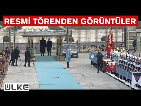 Cumhurbaşkanı Erdoğan, Arnavutluk Başbakanı Rama'yı resmi törenle karşıladı