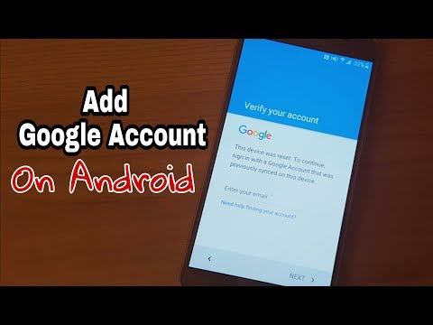 How to Add a New Google Account On Android
