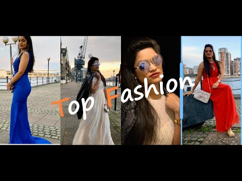 party-dresses-2019 -haul-&-try-on- -designer-maxi-dresses---myntra