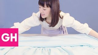 How to Fold a Fitted Sheet, According to Marie Kondo | GH