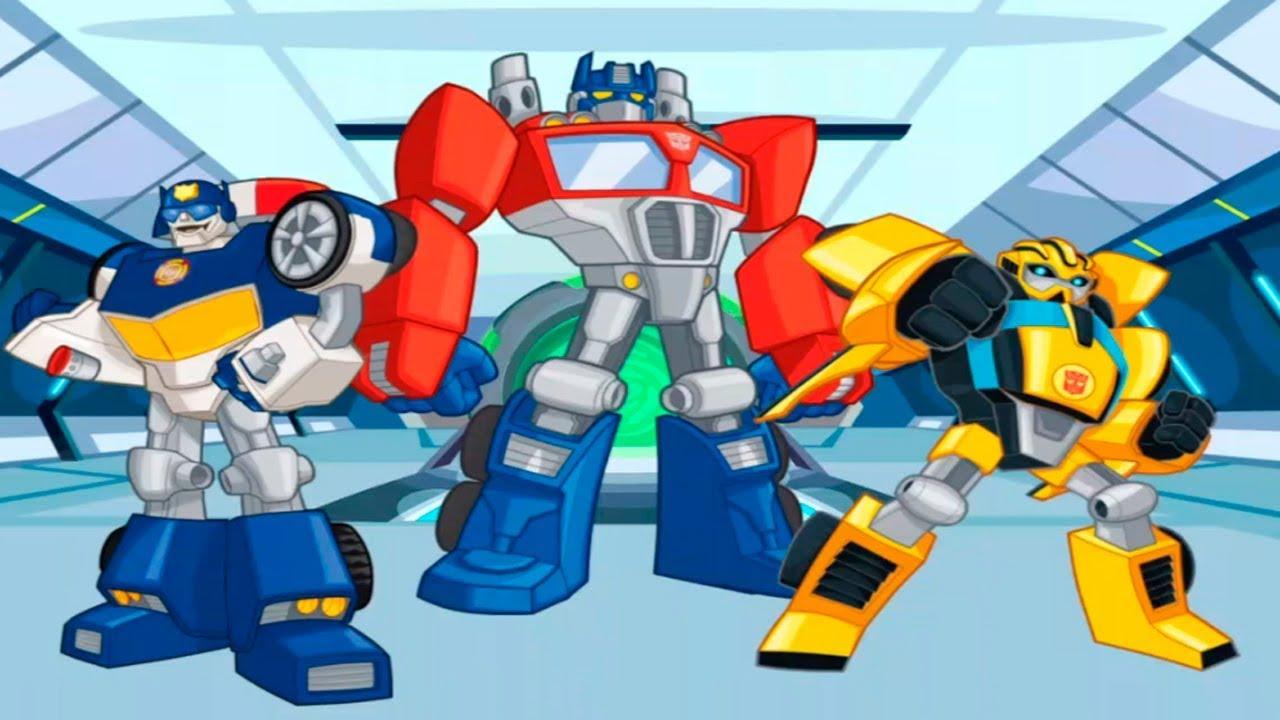 Transformers Rescue Bots Dibujos en Español para Niños - Tornado en ...