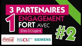 3 partenaires, 1 engagement fort avec Elles bougent !#2 Coca-Cola Euro…