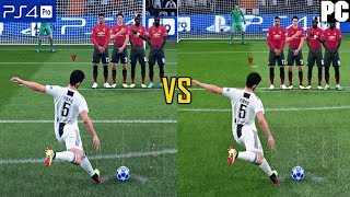 FIFA 19 Graphics Comparison (PS4 Pro vs PC)