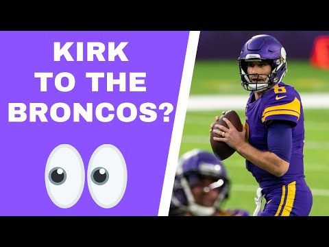 Are Denver Broncos pursuing Kirk Cousins?