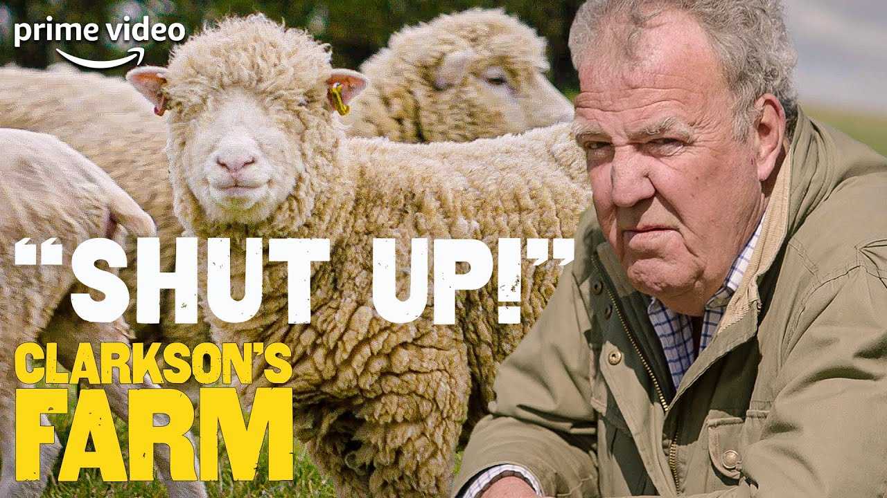 Jeremy Clarkson's Inner Monologue for His Sheep | Clarkson's Farm | The Grand Tour