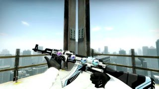 cs go ak 47   vulcan   sticker combinations