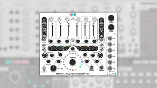 4ms Spectral Multiband Resonator (SMR) for Modular