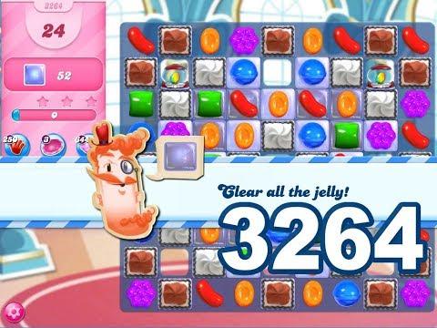 Candy Crush Saga Level 3264 (3 stars)