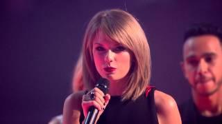 Taylor Swift Wins International Female BRIT Award | BRIT Awards 2015