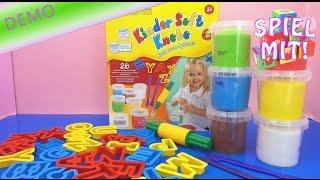 ABC Knete Kneten mit Kindern - Das Alphabet lernen mit Knete für Kinder Demo | deutsch learn abc
