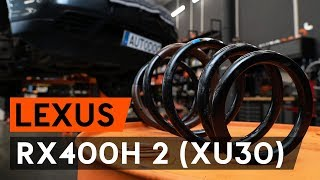 Montering Indre Endeledd LEXUS RX (MHU3_, GSU3_, MCU3_): gratis video