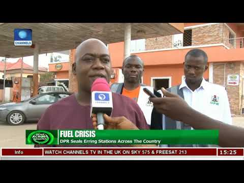 DPR Monitors Fuel Stations In Abuja | News Across Nigeria |