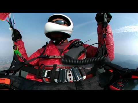 360 Paragliding in Long Hui Ganzhou JiangXi China 2016年12月16日