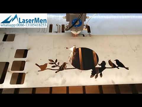 Yongli 280w stainless steel co2 laser cutting machine