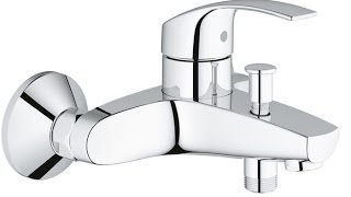 Смеситель для ванны Grohe Eurosmart 33300002(Обзор смесителя для ванны Grohe Eurosmart 33300002., 2015-09-30T12:20:36.000Z)