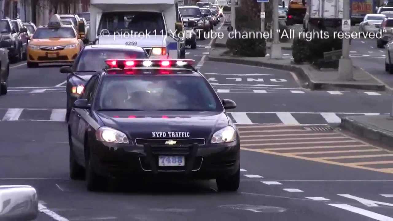 Police Car Chevrolet Impala Nypd Traffic Led Lightbar