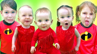 Five Kids What do you like? Song for children