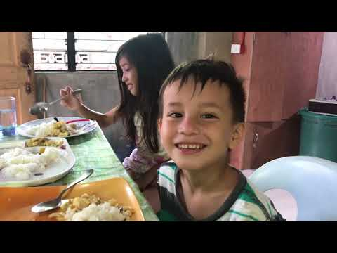 RAISING KIDS IN THE PHILIPPINES - CUTE MORNING WITH THE KIDS
