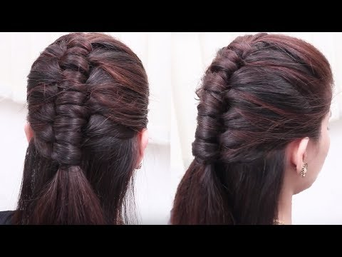 Most Beautiful Hair style for Girls || Ladies Hair style videos 2017