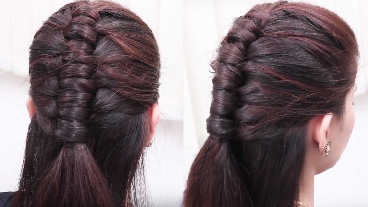 Most Beautiful Hair Style For Girls