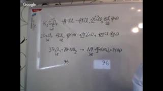 ЕГЭ по химии: трудности при выполнении заданий 21, 22, 30
