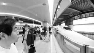 Ride to Shinkansen / 新幹線に乗ります。