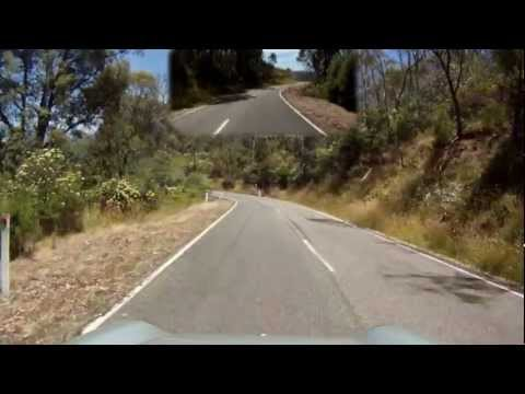 Great driving roads - Whitfield to Mansfield VICTORIA Australia
