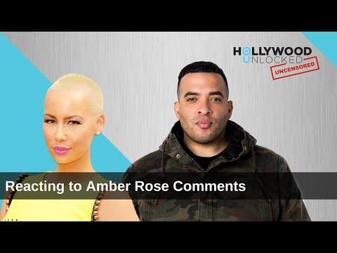 Reacting to Amber Rose Throwing Shade & Inviting Her to the Show on Hollywood Unlocked [UNCENSORED]