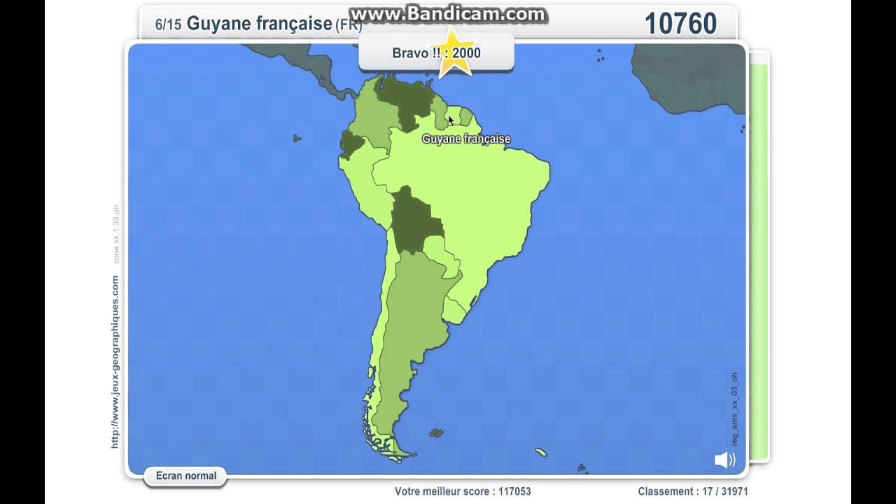 Carte Amerique Du Sud Quiz.Carte Amerique Latine Quiz