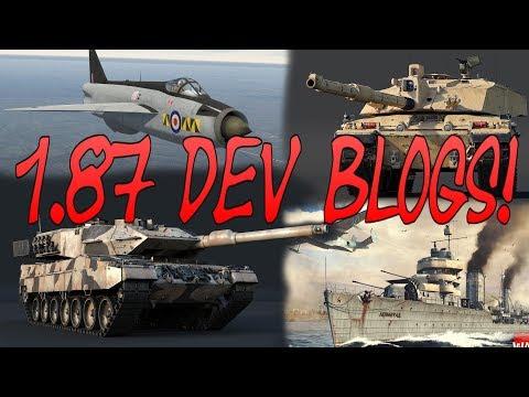 First Dev Blogs of 1.87 - War Thunder Weekly News
