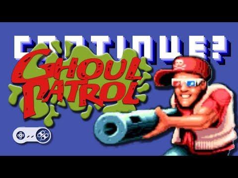 Ghoul Patrol (SNES) - Continue?