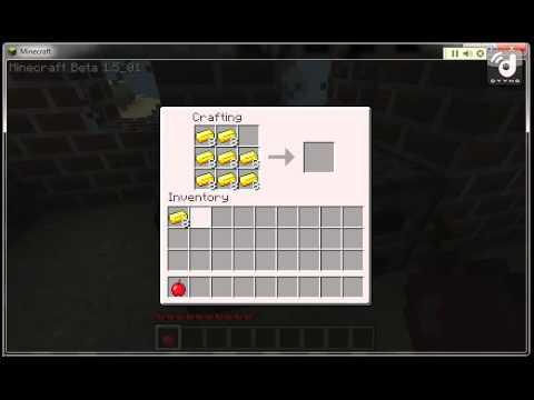 Minecraft Golden Apple Crafting