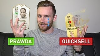 KTO MA NAJDROŻSZE AUTO W EKIPIE?! PRAWDA ALBO QUICKSELL FIFA 19!