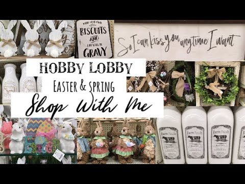 Hobby Lobby Easter/Spring Shop With Me