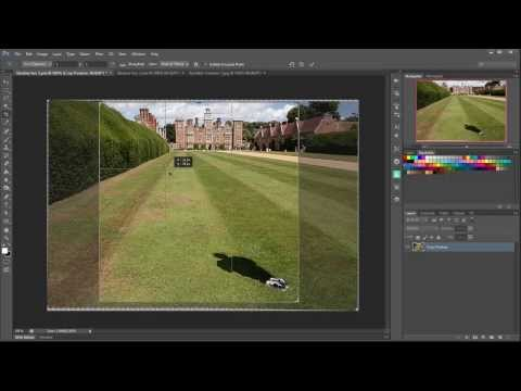 Create an Invisible Person with A Shadow in Photoshop