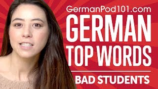 Learn the Top 10 Phrases for Bad Students in German