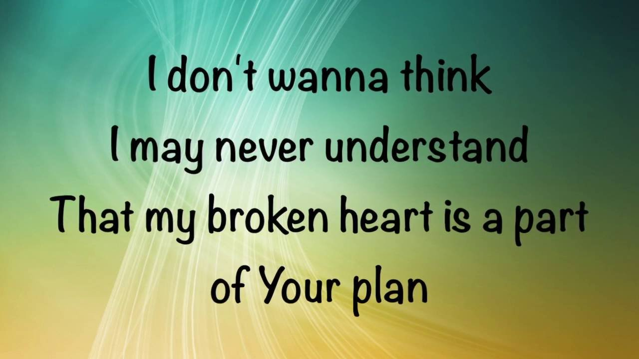 Image result for thy will lyrics