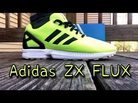 adidas originals zx flux electric yellow