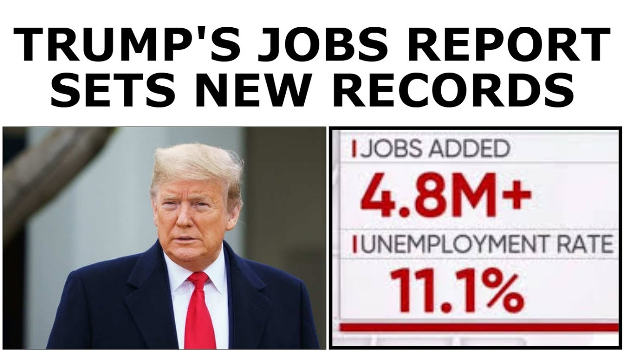 Trump's Economy BREAKS RECORDS With Excellent Jobs Report (For Now)