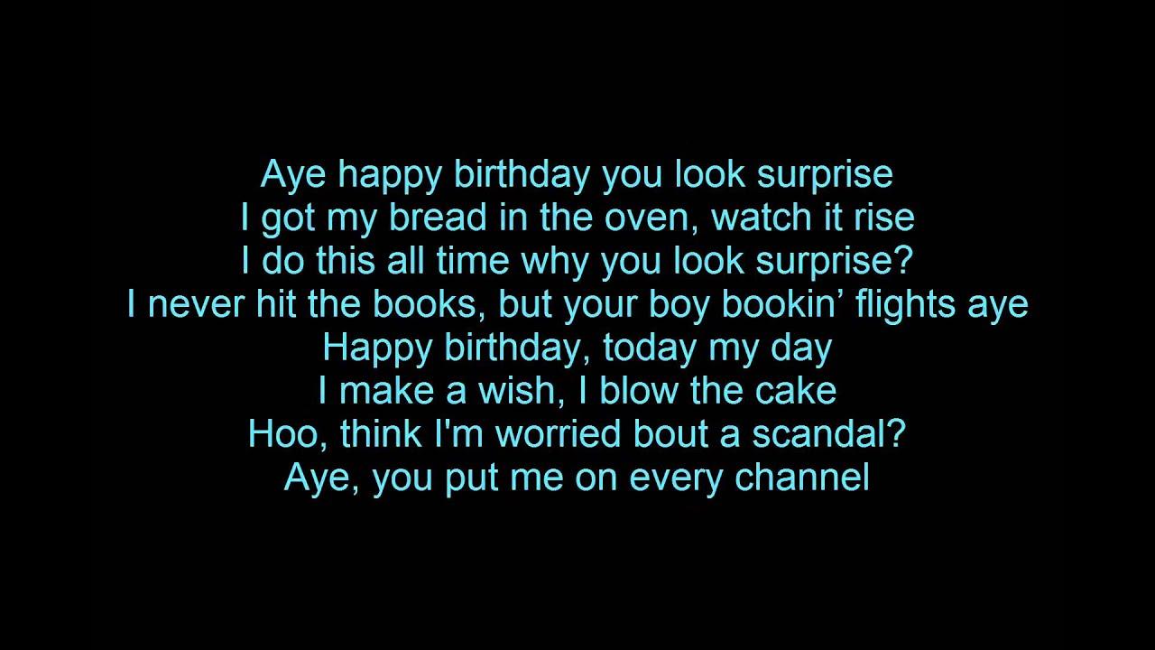 will.i.am - It's my birthday Lyrics - YouTube