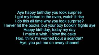 Tyga - Happy Birthday (Lyrics)