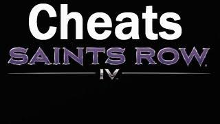 Saints Row 4 Cheat Codes PT2: Unlock All, Big Head Mode & More