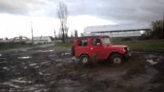 Daihatsu TAFT testing off road